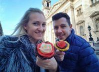 Kako zarađivati od bloga na Balkanu i proputovati svijet INTERVJU - anamarija i sašo štikla kafa kravata blog finjak intervju najbolji travel blogeri finjak uživanje anamarija pogled sladoled