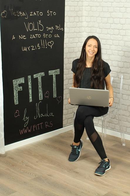 Kako pokrenuti uspješan fitness blog na Balkanu Nada fitt rs blog fitness prehrana finjak intervju savjeti trening blog nada