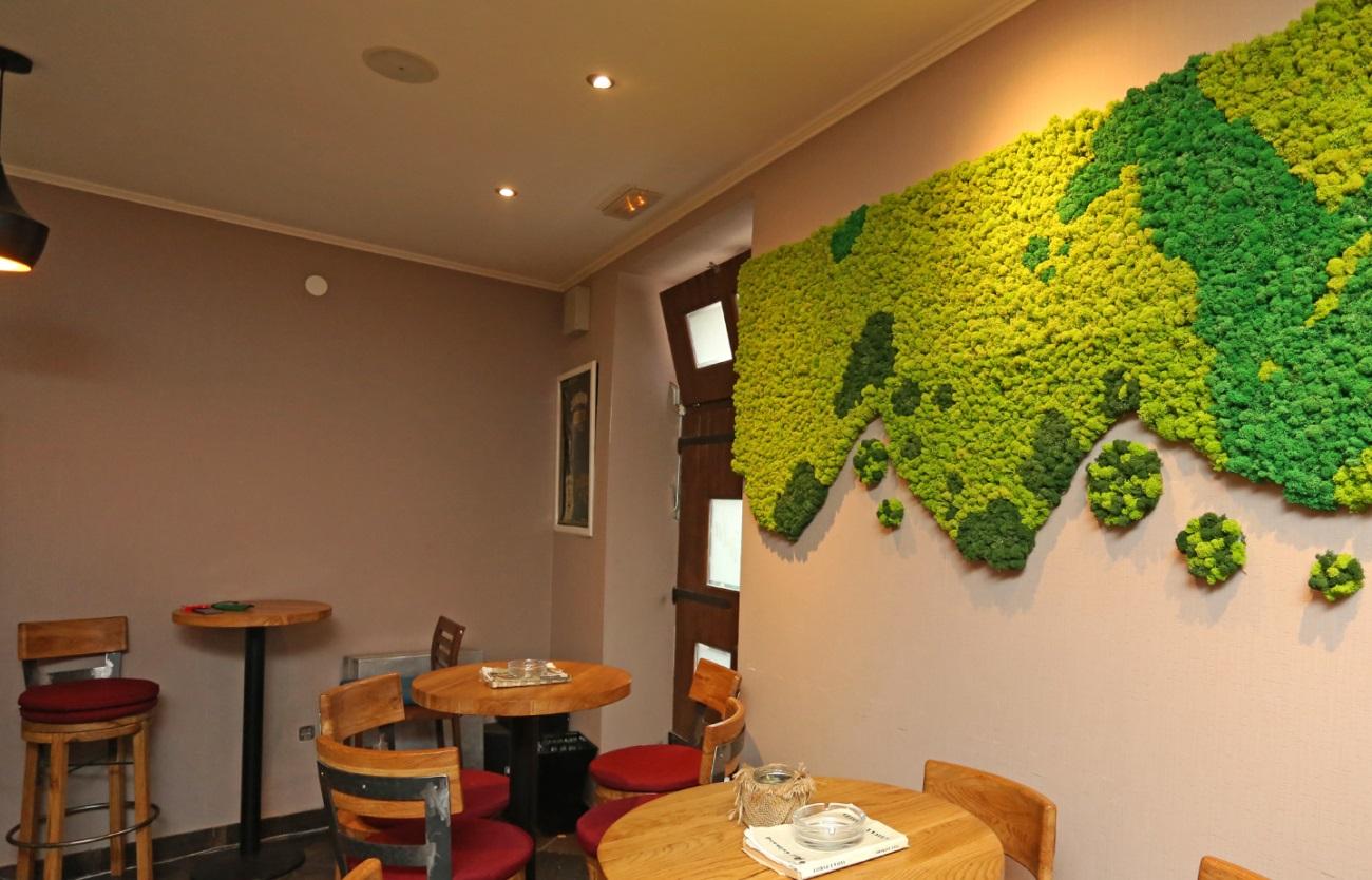 tech garden finjak zeleni zidovi fino interjer bar