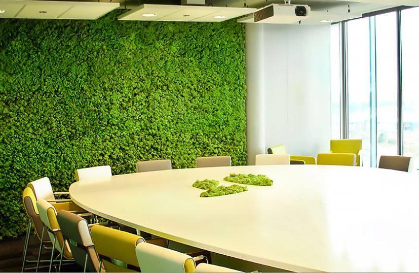 Zeleni vertikalni vrtovi su cool trend za uređenje kuće stana ili ureda