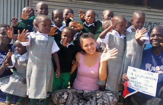 milica putovanje svijetom Deca kojoj sam pomogla