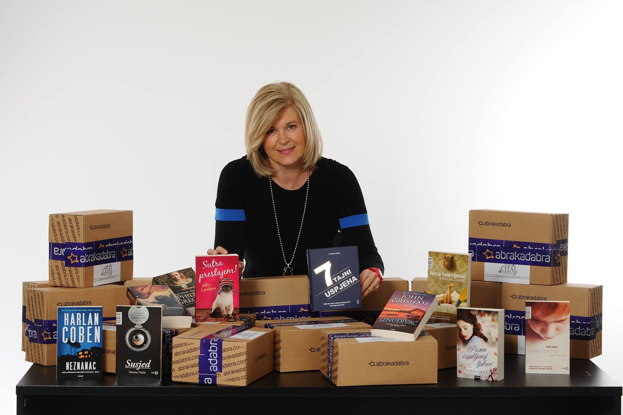 Alis: Pokrenula sam mnogobrojne projekte vezane uz knjige